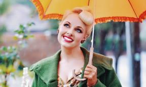 Vintage Portrait by Louise Whelan Rainy Day