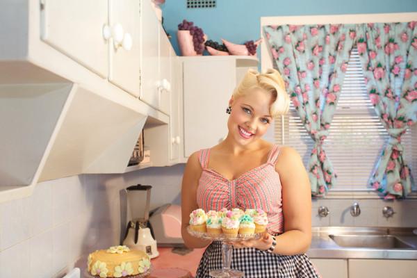 Pia Vintage 50's Kitchen Louise Whelan