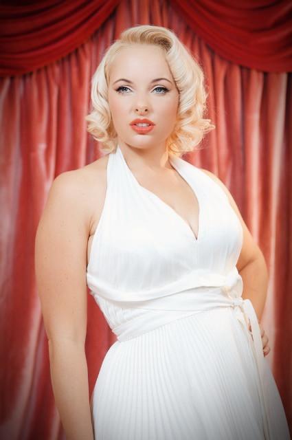 Pia As Marilyn Monroe