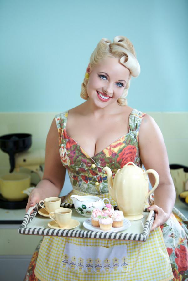 Pia 50's Vintage Kitchen Louise Whelan