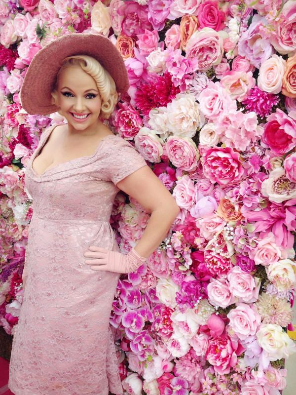 Pia McGrath Foundation Believe in Pink event host